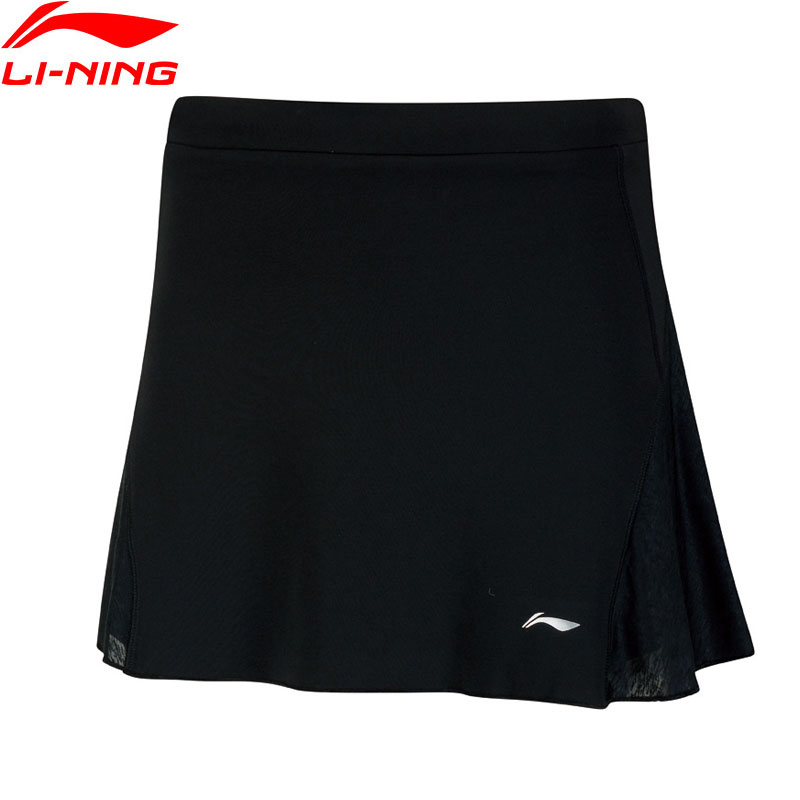 Li Ning Women's Badminton Skorts Skirt Shorts For Competition AT DRY Regular Fit Breathable LiNing Sports Skirts ASKN062 WKQ067