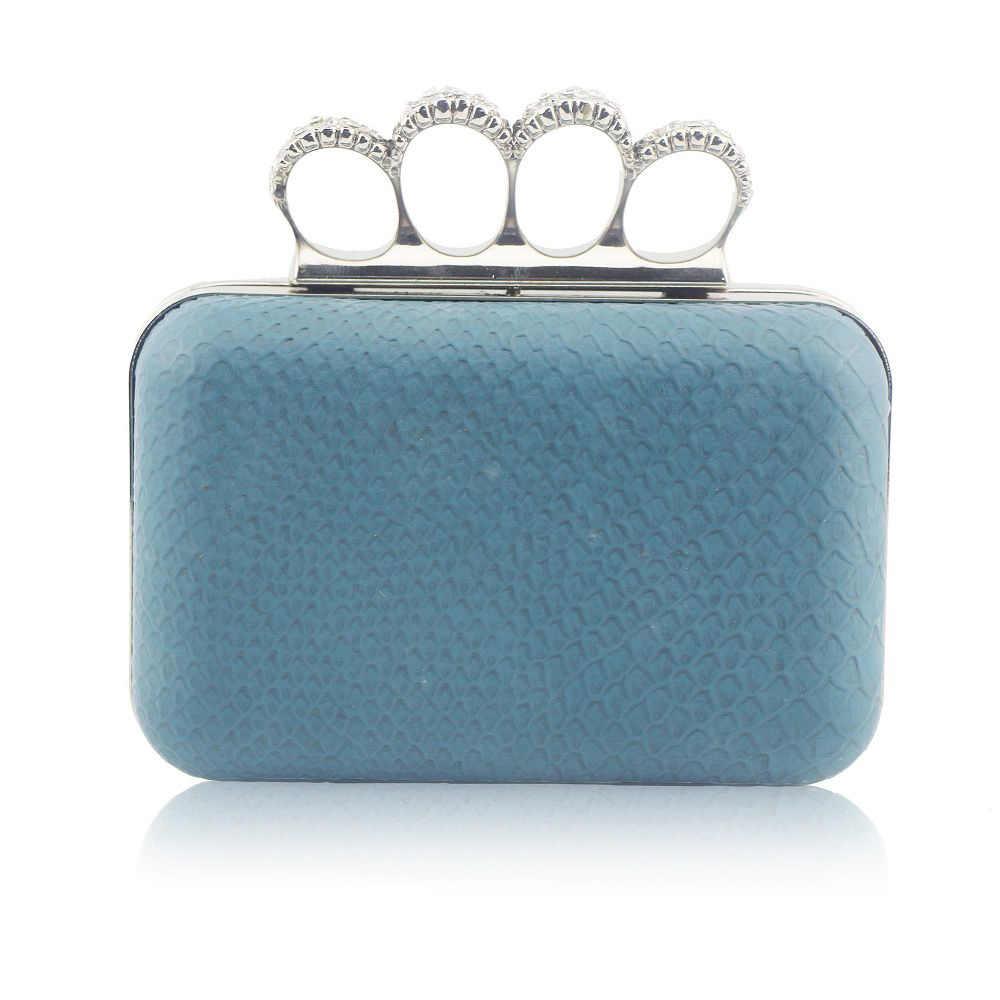 Buckle ring bag PU mini bag  Performance clutch Hard shell shaped handbag Mini bag A282