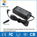 19V 3.42A laptop AC power adapter for Acer Ironia Tab W700 W700P S3 S5 S7