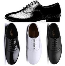 лучшая цена Discount Dance Shoes Man Latin Tango Dance Shoes Man Hot Sale Brand Boys Dancing Ballroom Rumba Samba Bull Low Heel Hight