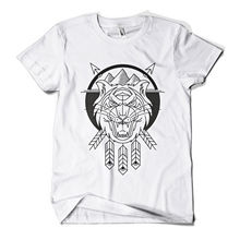 все цены на Killer Tiger T Shirt Fashion Print Cat Hipster Urban Design Mens Girls Tee Top New T Shirts Funny Tops Tee New   free shipping онлайн