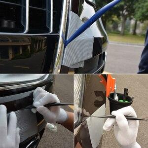 Image 3 - FOSHIO Car Accessories Carbon Fiber Vinyl Squeegee Scraper Car Wrap Tools Sticker Film Installation Window Tint Wrapping Tools
