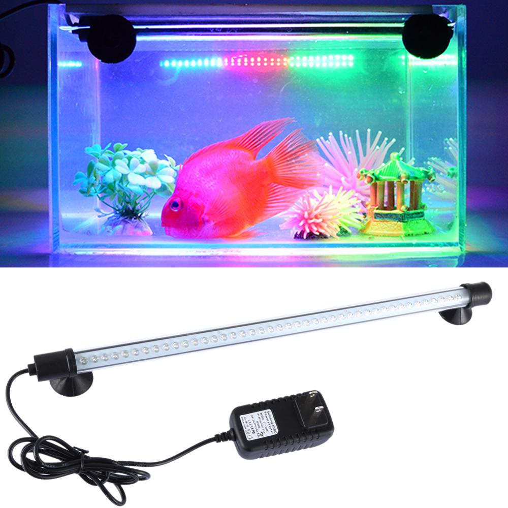 Fish tank lights for sale - Aquarium Fish Tank 18 28 38cm Smd Blue White Bar Light Underwater Submersible Waterproof