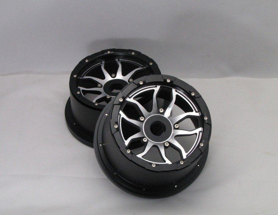 baja 5b alloy rim  top 1 !!! ( 2pc front. 2pc rear) baja alloy rear lower control arm 2pc