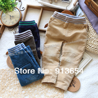 Free shipping Retail new 2014 spring autumn baby pants for boys casual pants children clothing baby boy skinny trousers
