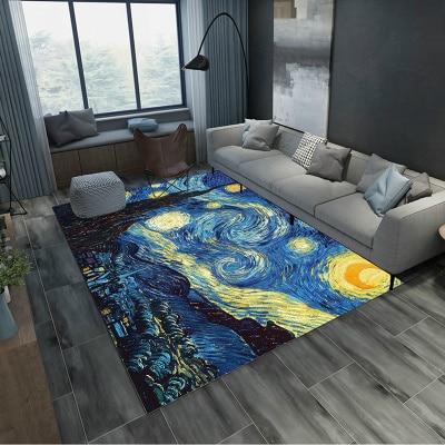 Peluche douce Shaggy Alfombras tapis pour salon fausse fourrure ovale grand tapis pour chambre 200*300 CM antidérapant tapis de sol maison - 3