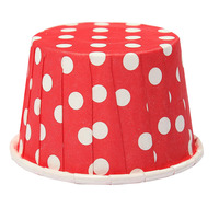 100 X Cupcake Wrapper Paper Cake Case Baking Cups Liner Muffin red Cake Molds