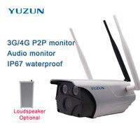 New 4G camera wireless Outdoor security camera 3g 4g ip camera wi fiwaterproof ip 67 sim camera surveillance cam