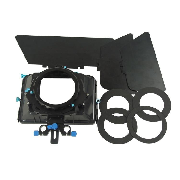 Professional Metal DSLR Camera Matte Box With Filters Slot Design For Camera CamcordersProfessional Metal DSLR Camera Matte Box With Filters Slot Design For Camera Camcorders