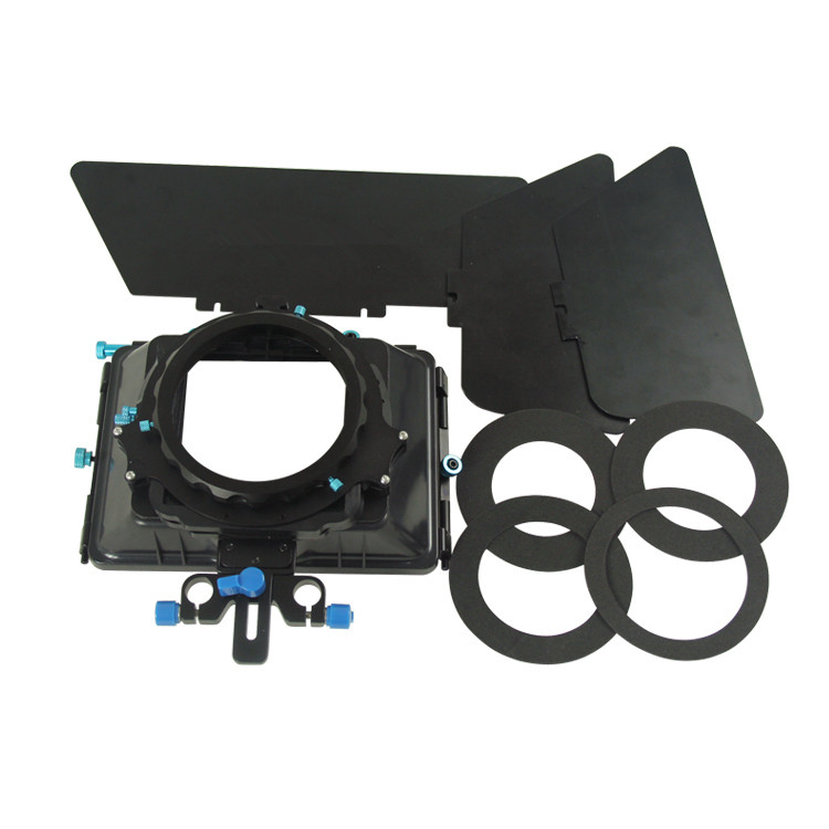 Professional Metal DSLR Camera Matte Box With Filters Slot Design For Camera Camcorders