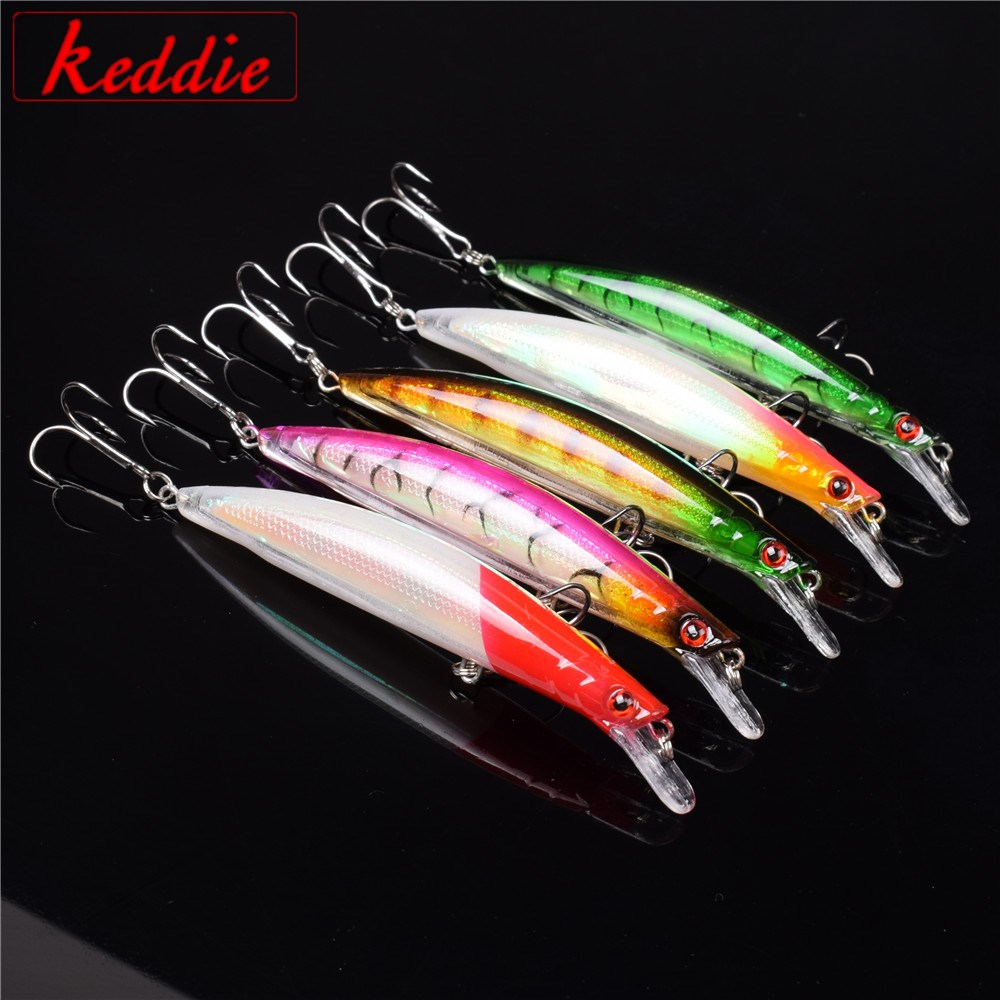5PCS Floating Minnow Fishing Lure Laser Hard Artificial Bait 3D Eyes 11.5cm 14g Fishing Wobblers Crankbait Minnows peche pesca 1pcs 12cm 14g big wobbler fishing lures sea trolling minnow artificial bait carp peche crankbait pesca jerkbait ye 37