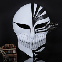 Halloween PVC God of Death Ichigo Kurosaki Bleach Dance Mask Cosplay Scary Adult Fancy Costume Party Masquerade Halloween Props