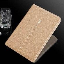 """Nuevo negocio de la moda S2 funda Original para Samsung Galaxy Tab 8.0 """"T710 T715 Tablet Inteligente Wake/Sleep caso + pen + película de pantalla"""