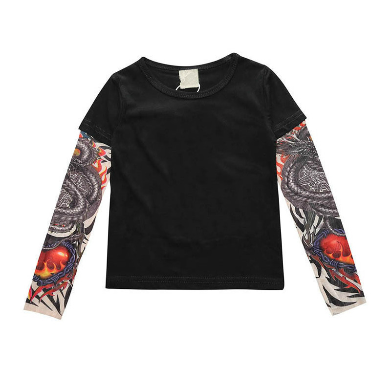 fafda3940 Fashion Children Kids Baby T-Shirt For Autumn Hip-Hop Style Infants Newborn  Boys