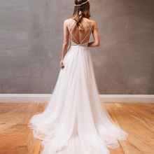Bbonlinedress Sexy Backless Wedding Gowns 2019 White Color Lace Beading Dresses Court Train Brautkleid