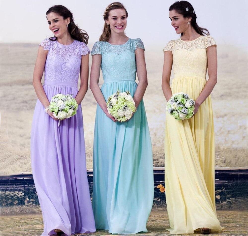 Colorful Pastel Pink Bridesmaid Dress Sketch - All Wedding Dresses ...
