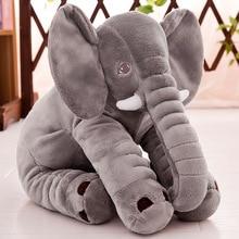 Elephant Soft Appease Baby Pillow Infant Calm Plush Doll Toy Baby Sleep Waist Pillow Bed Car Seat Cushion Breastfeeding Pillows