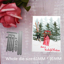Sledge Metal Steel Cutting Embossing Dies For Scrapbooking paper craft home decoration Craft 6.1*9.1 cm
