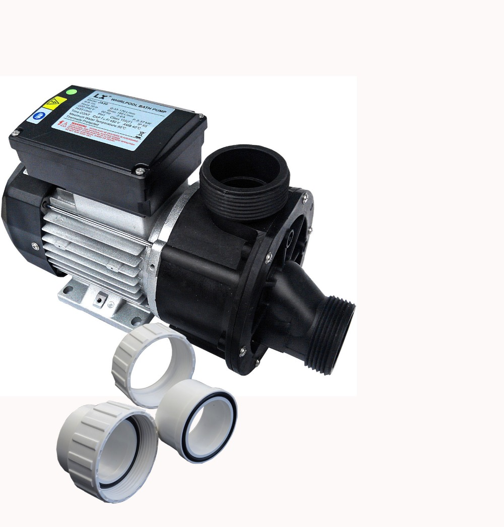 LX JA50  spa bathtub whirlpool pump with 0.5HP 220V 50HZ or 60HZ as circulation pump for AMC Winer Spa, Chinese Spas, Spa Serve.
