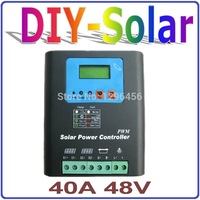48V Battery Charger Regulator For 2000W PV Solar Panels LCD Display Charging Off Grid Solar Charge