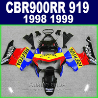 cbr900rr919 98 99 Fairings For Honda cbr 900rr 919 1999 1998 Fairing kit ( black blue red ) CN81