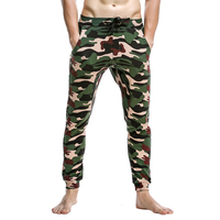 New Seobean man's lounge pants 100% cotton pajama pants sexy casual low waist pants autumn and winter fashion trousers