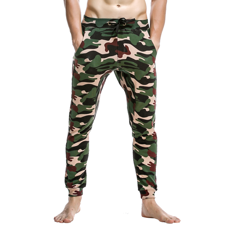 New Seobean Man's Lounge Pants 100% Cotton Pajama Pants Sexy Casual Low-waist Pants Autumn And Winter Fashion Trousers