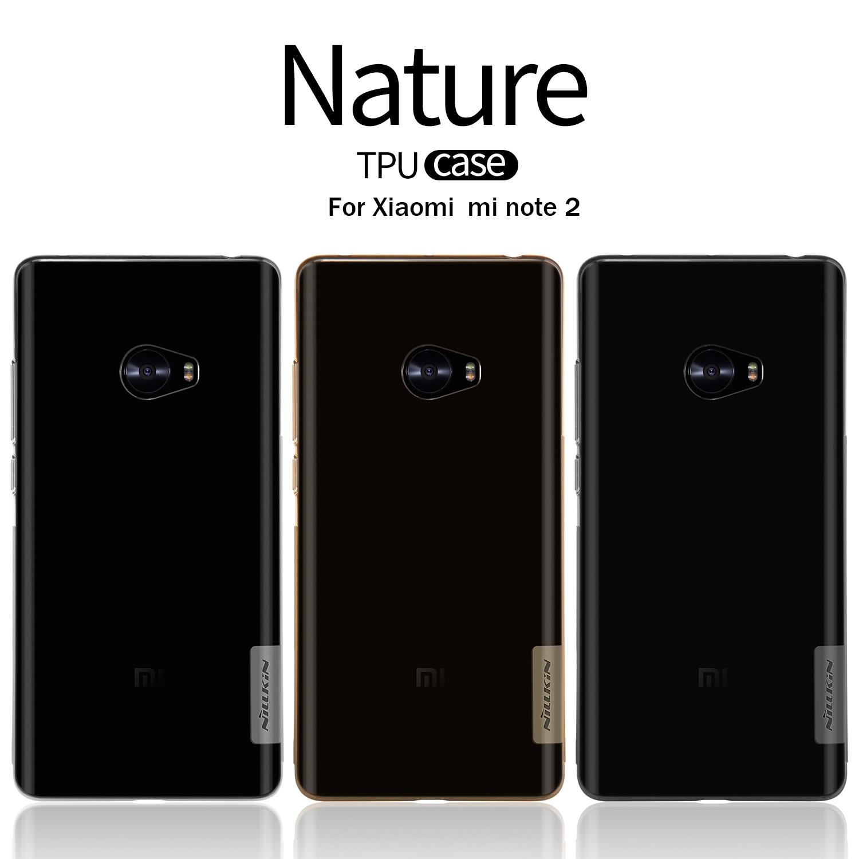 New For Xiaomi Mi Note 2 5 7 Cover NILLKIN Ultra Thin Slim TPU Case For Xiaomi Mi Note 2 Soft TPU Back Cover