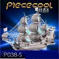 Piececool 3D Головоломки Металлические Игрушки, Королевы Анны Месть P038-S Обучающие Головоломки 3D Модели, смешные Подарки, игрушки Для Детей