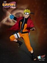 1 6 scale Super flexible Anime figure NARUTO NINJA Uzumaki Naruto 12 action figure doll Collectible