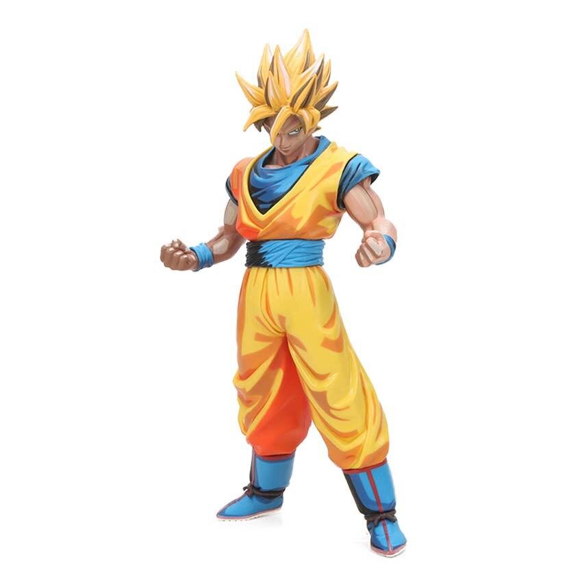 Manga Dragon Ball Z Vegeta Goku Gohan Broly Trunks Action Figures 34cm 25