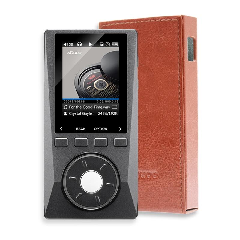 XDUOO X10 (+ cas livraison) HIFI Portable Salut-Res Sans Perte DSD Musique Lecteur AMP Soutien Optique Sortie 24Bit/192 khz OPA1612 pk X3