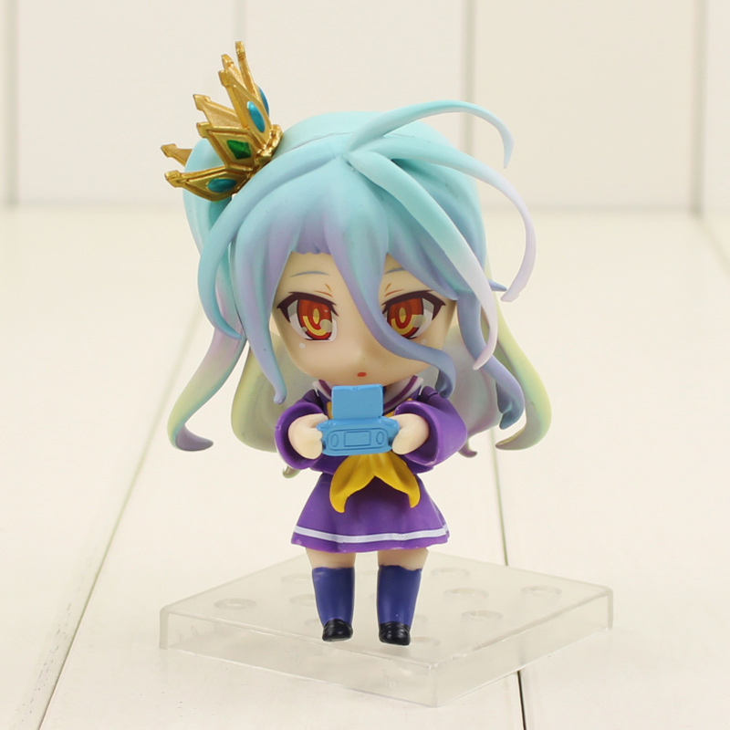 NO GAME NO LIFE Nendoroid Shiro 653 PVC Action Figure 10cm in box