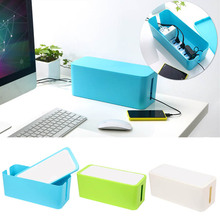 Cord Organizer Kit Cover Conceal Cable Management Box Hide Wire Plug Boxes Hot Sale