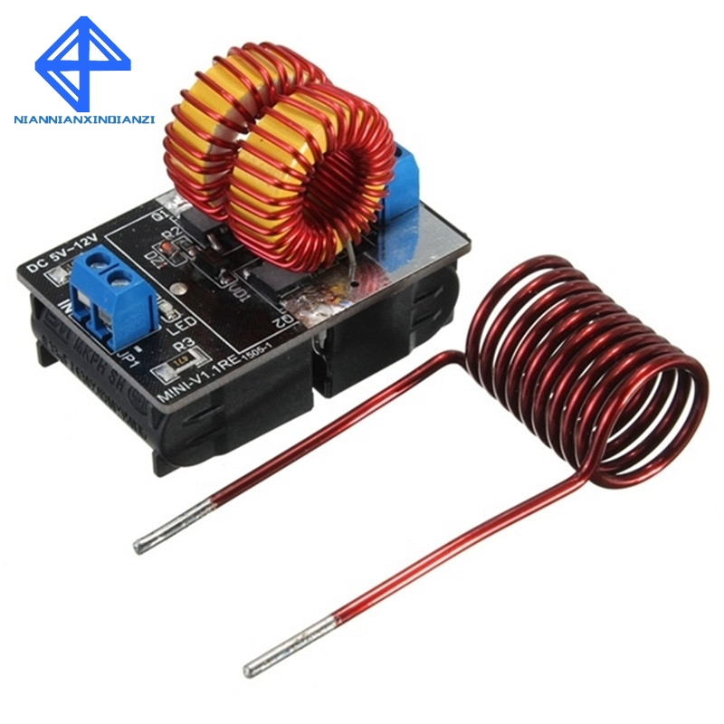 5-12V ZVS Low Voltage Induction Heating Power Supply Module  induction heating power supply with Coil5-12V ZVS Low Voltage Induction Heating Power Supply Module  induction heating power supply with Coil