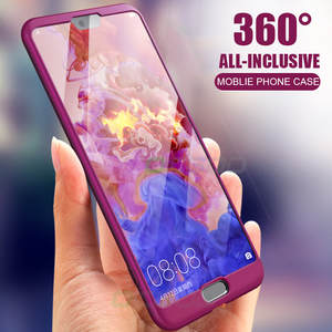 OICGOO Luxury 360 Degree Phone Case For Huawei P20 Lite Honor 10