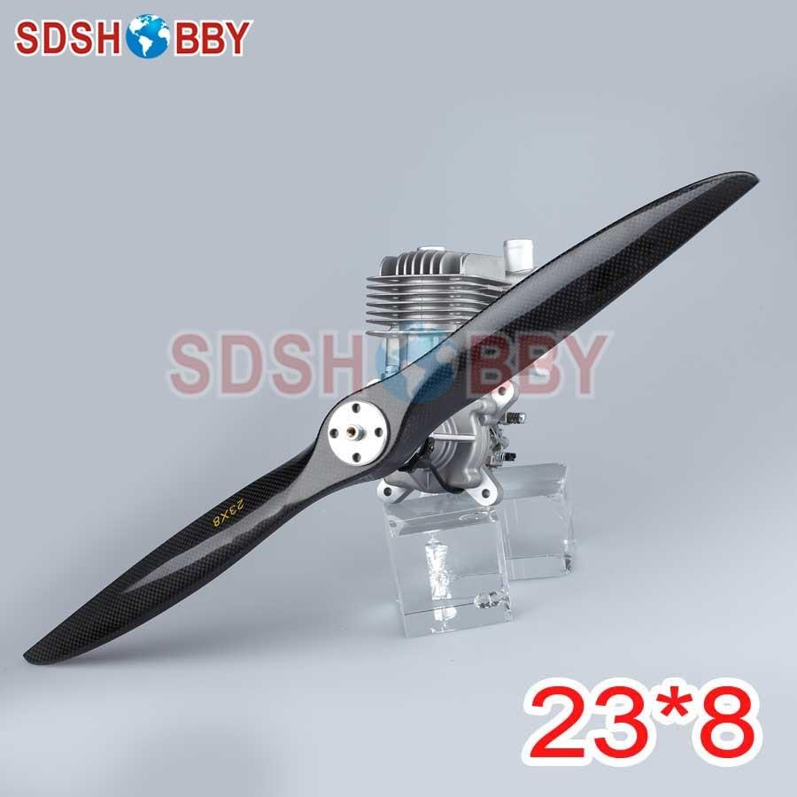 Two Blades Carbon Fiber Propellers 23*8 23*10 23x8 23x10 2380 2310 (MEJZLIK Type) For RC Gasoline Airplanes