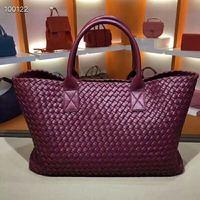 2019 Fashion Leather High grade Fabric Women's Bag High Quality Candy Handbag Knitting Bag