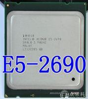 Оригинальный процессор Intel Xeon E5 2690 E5 2690 восемь основных 2,9 г SROL0 C2 LGA2011 Процессор 100% работает должным образом настольный процессор