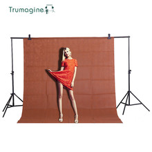 1.6X2M/5.2X6.5ft Coffee Shooting Screen Photo Background Backdrops Non woven Fabric Photography Studio Chromakey Shot Cloth 2x3m photography backdrops green screen hromakey background chromakey non woven fabric professional for photo studio 7colors