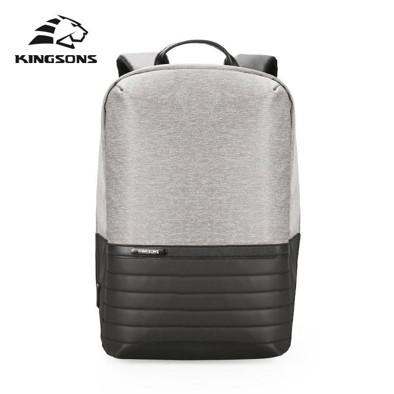 Kingsons Unisex Large Capacity Waterproof Travel Backpack Second Generation USB Charging Solid Bag Teenager Book BagKingsons Unisex Large Capacity Waterproof Travel Backpack Second Generation USB Charging Solid Bag Teenager Book Bag