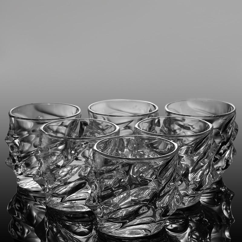 Творческие выгравированы Дизайн виски Очки 8 унц. пить пиво воды вино, коньяк vodka Bar отеля Ресторан украшения