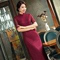 Free shipping high-grade cheongsam dress Oriental dress silk cheongsam qipao dress chinese traditional clothing hot sale 248
