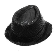 Женская шапка с блестками, уличная шляпа от солнца, женские Джазовые зимние шляпы, танцевальные сценические представления, шляпы для женщин