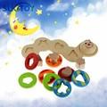 Образовательные Мягкие Монтессори дети интеллектуальные творческие интерактивные игрушки