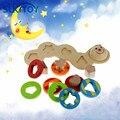 Montessori educacional Macio crianças criativas inteligentes brinquedos interativos