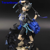 Black Butler Book of Muder Ciel Phantomhive Action Figure PVC Figuras Anime Model Collectible Toy Kids Gift Figma Doll XP