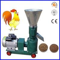 100 Kg/u Kleine Pellet Machine  Familie Gebruik Kleine Houtpellets Molen  Kleine Pelletizer