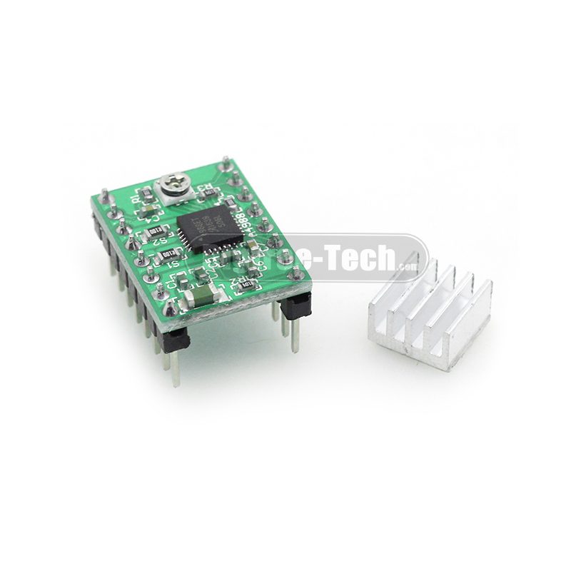 3D Printer Bigtree4988 Stepper Motor Drive Stepstick MAX2A With Heat Sink Compatible With A4988 Support MAX 128 Micro Step3D0099