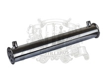 2″ OD64 Stainless  steel 304   condenser. Length 450mm, 6pipes ID8mm